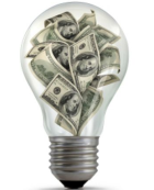 money light bulb